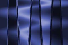 Μεταλλική μπλε ανασκόπηση Στοκ Εικόνες