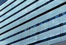 Μεταλλική πρόσοψη ενός σύγχρονου κτηρίου Στοκ Εικόνες