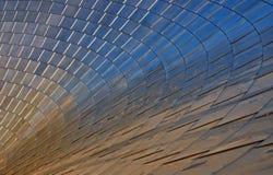 Μεταλλική σύσταση Shinny Στοκ Εικόνες
