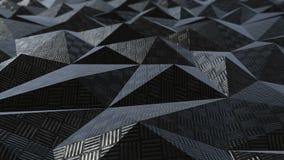 Μεταλλικός αφηρημένος γεωμετρικός βρόχος υποβάθρου ελεύθερη απεικόνιση δικαιώματος