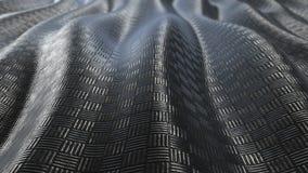 Μεταλλικός βρόχος υποβάθρου σχεδίων αφηρημένος μαλακός ελεύθερη απεικόνιση δικαιώματος
