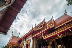 Μεταλλικός θόρυβος Mueng Si Wat, chiang mai, Ταϊλάνδη Στοκ Φωτογραφία