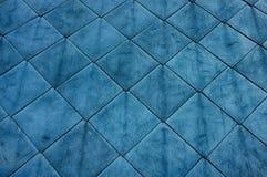 Μεταλλικός μπλε ρόμβος Στοκ εικόνες με δικαίωμα ελεύθερης χρήσης