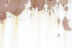 Μεταλλικός παλαιός τοίχος Πόρτα γκαράζ σύσταση λεπτομερές ανασκόπηση grunge γεια ιδιαίτερα ύφος διάλυσης στρώματος Στοκ Εικόνα