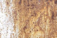Μεταλλικός παλαιός τοίχος Πόρτα γκαράζ σύσταση Στοκ φωτογραφία με δικαίωμα ελεύθερης χρήσης