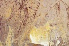 Μεταλλικός παλαιός τοίχος Πόρτα γκαράζ σύσταση Στοκ εικόνα με δικαίωμα ελεύθερης χρήσης