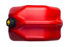 Μεταλλικό κουτί με τη βενζίνη στοκ εικόνες με δικαίωμα ελεύθερης χρήσης