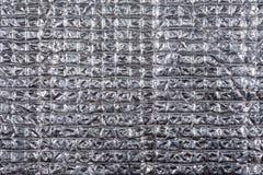 Μεταλλικό φύλλο αλουμινίου Στοκ Εικόνες