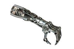Μεταλλικό χέρι ρομπότ Στοκ φωτογραφία με δικαίωμα ελεύθερης χρήσης