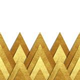 Μεταλλικό χρυσό υπόβαθρο συνόρων εγγράφου Στοκ φωτογραφία με δικαίωμα ελεύθερης χρήσης