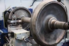 Μεταλλουργική CNC μηχανή άλεσης Στοκ εικόνα με δικαίωμα ελεύθερης χρήσης