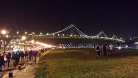 Μετα παιχνίδι Σαν Φρανσίσκο Στοκ Φωτογραφίες