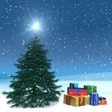 μετα Χριστούγεννα καρτών Στοκ εικόνα με δικαίωμα ελεύθερης χρήσης