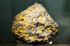 Μετεωρίτης Pallasite Imilac Στοκ Εικόνα