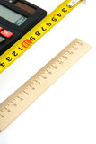 μετρήσεις υπολογισμών Στοκ φωτογραφία με δικαίωμα ελεύθερης χρήσης