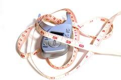 Μετρήστε τη μέση και το παχύ όργανο ελέγχου Στοκ εικόνες με δικαίωμα ελεύθερης χρήσης
