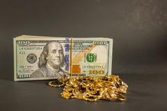 Μετρητά για το χρυσό 001 Στοκ Εικόνες