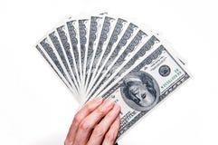 Μετρητά υπό εξέταση Στοκ εικόνα με δικαίωμα ελεύθερης χρήσης