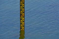 Μετρητές σταθμών ύδατος Στοκ Φωτογραφίες