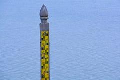 Μετρητές σταθμών ύδατος Στοκ Φωτογραφία