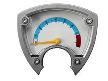 μετρητής αέρα Στοκ εικόνες με δικαίωμα ελεύθερης χρήσης