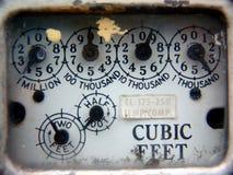 μετρητής αερίου Στοκ Εικόνες