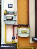 μετρητής αερίου στοκ εικόνα με δικαίωμα ελεύθερης χρήσης