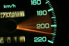 Μετρητής αυτοκινήτων στοκ εικόνα