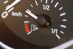 Μετρητής δεξαμενών αερίου καυσίμων αυτοκινήτων Στοκ Εικόνες