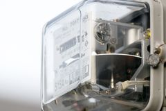 Μετρητής ηλεκτρικής ενέργειας Στοκ Εικόνες