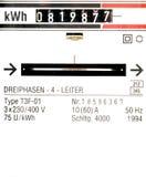μετρητής ηλεκτρικής ενέρ&gamma Στοκ Φωτογραφίες