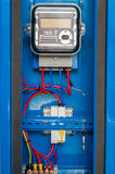 Μετρητής ηλεκτρικής δύναμης AMR Στοκ εικόνες με δικαίωμα ελεύθερης χρήσης