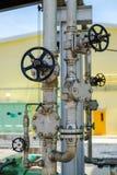 Μετρητής πίεσης, βαλβίδες και όργανο Στοκ φωτογραφία με δικαίωμα ελεύθερης χρήσης
