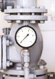 Μετρητής πίεσης νερού Στοκ Εικόνες