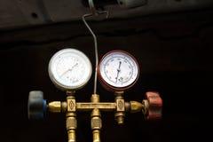 Μετρητής πίεσης πινάκων. Στοκ Εικόνες