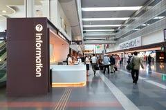 Μετρητής πληροφοριών στον αερολιμένα D1 Ιαπωνία Haneda Στοκ Φωτογραφία