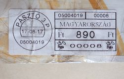 μετρητής ταχυδρομικών τελών της Ουγγαρίας Στοκ Εικόνα