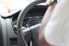 Μετρητής ταχύτητας αυτοκινήτων Στοκ Εικόνες