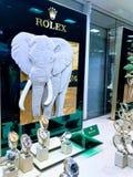 Μετρητής της Rolex σε ένα κατάστημα τμημάτων, Λονδίνο στοκ εικόνα με δικαίωμα ελεύθερης χρήσης