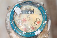 Μετρητής των σωλήνων νερού και μετάλλων, σχήμα Ταϊλάνδη Στοκ φωτογραφίες με δικαίωμα ελεύθερης χρήσης
