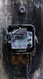 Μετρητής δύναμης που καίγεται Στοκ Φωτογραφία