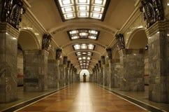 Μετρό εγκαταστάσεων Kirov Στοκ εικόνα με δικαίωμα ελεύθερης χρήσης