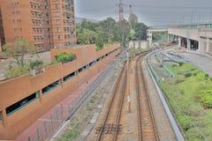Μετρό στο SIU Hong Tuen Mun στοκ φωτογραφία με δικαίωμα ελεύθερης χρήσης