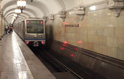 Μετρό της Μόσχας Στοκ Εικόνες