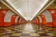 Μετρό της Μόσχας Στοκ φωτογραφία με δικαίωμα ελεύθερης χρήσης