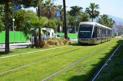 Μετρό της Νίκαιας, Γαλλία Στοκ φωτογραφία με δικαίωμα ελεύθερης χρήσης