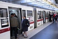 Μετρό της Ρώμης στοκ εικόνες