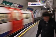 Μετρό του Λονδίνου Στοκ εικόνα με δικαίωμα ελεύθερης χρήσης