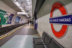 Μετρό του Λονδίνου Στοκ Φωτογραφίες