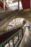 Μετρό του Παρισιού Στοκ Εικόνες